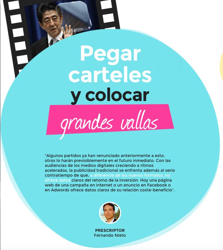 Pegada de carteles  reportaje tiempo de campaña RTVE.es